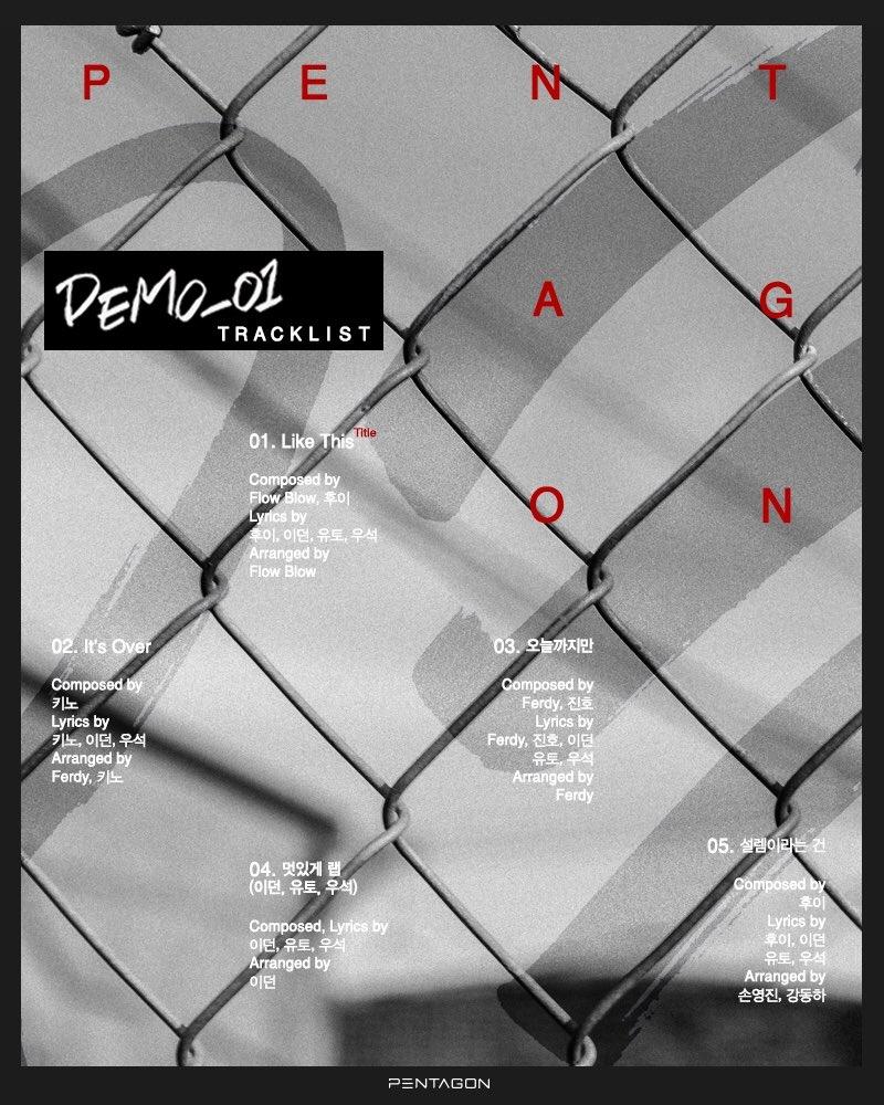pentagon_demo_01_tracklist