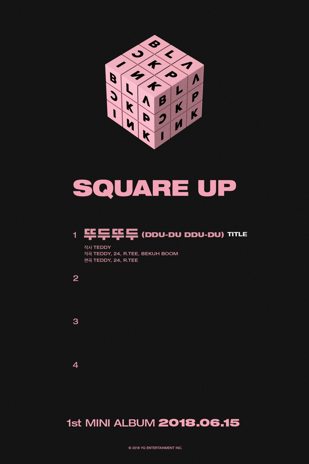 SQUARE UP title track