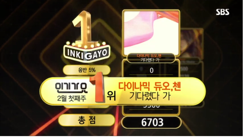 Dynamic Duo x Chen - Nosedive Inkigayo