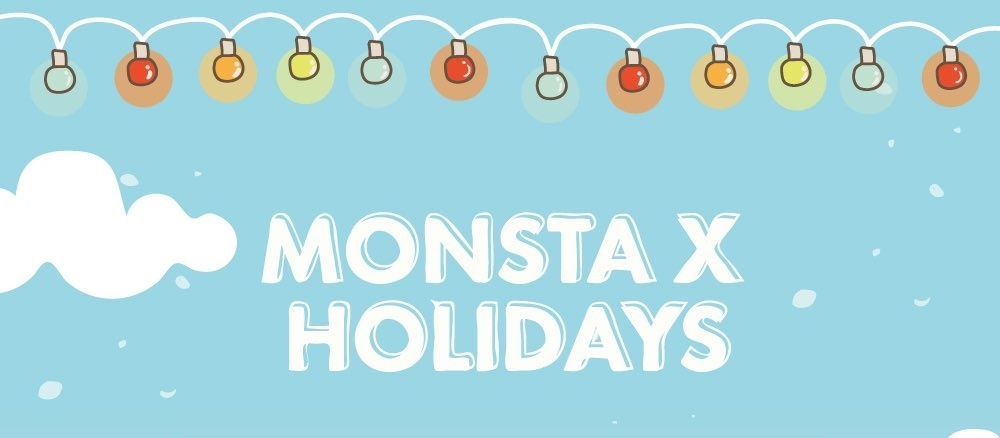 MONSTA X HOLIDAYSwyr