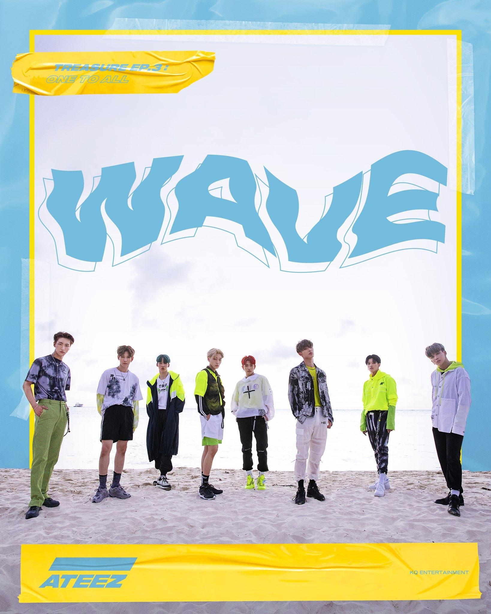 ateez wave
