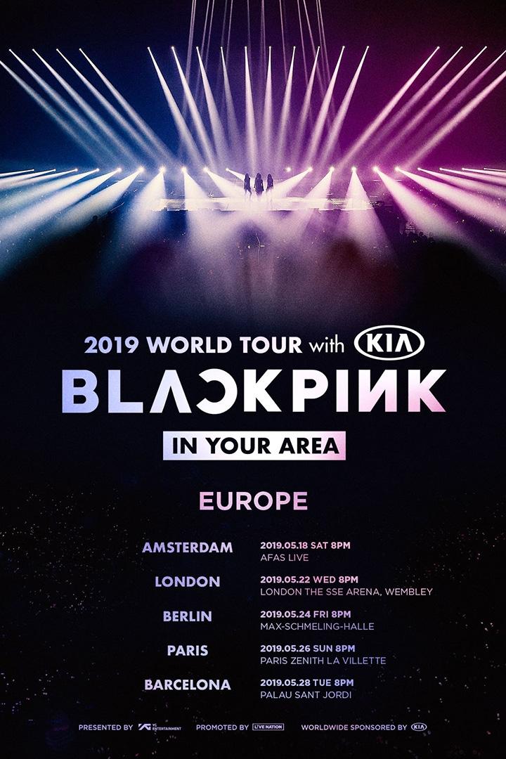 blackpink world tour