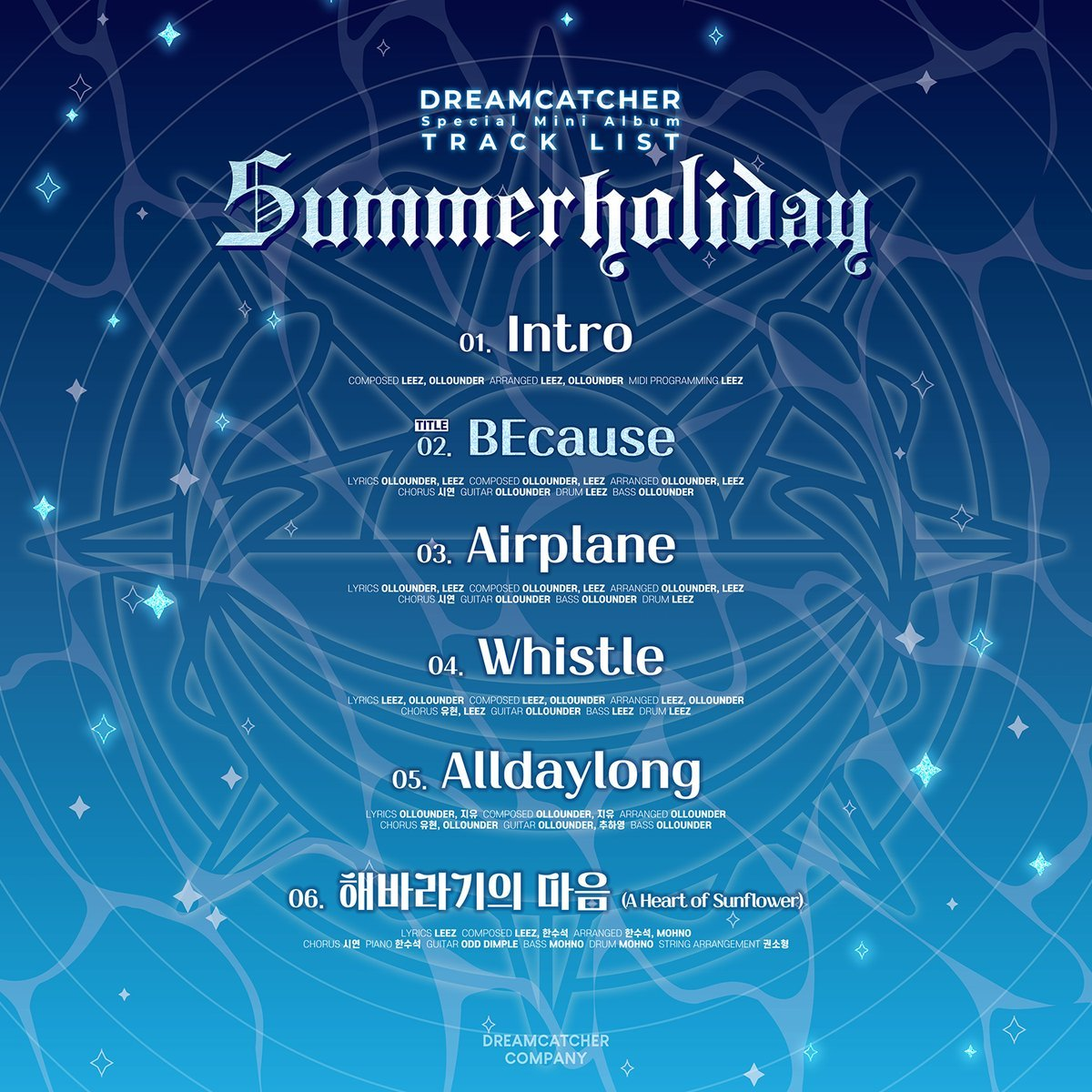 SummerHoliday_tracklista
