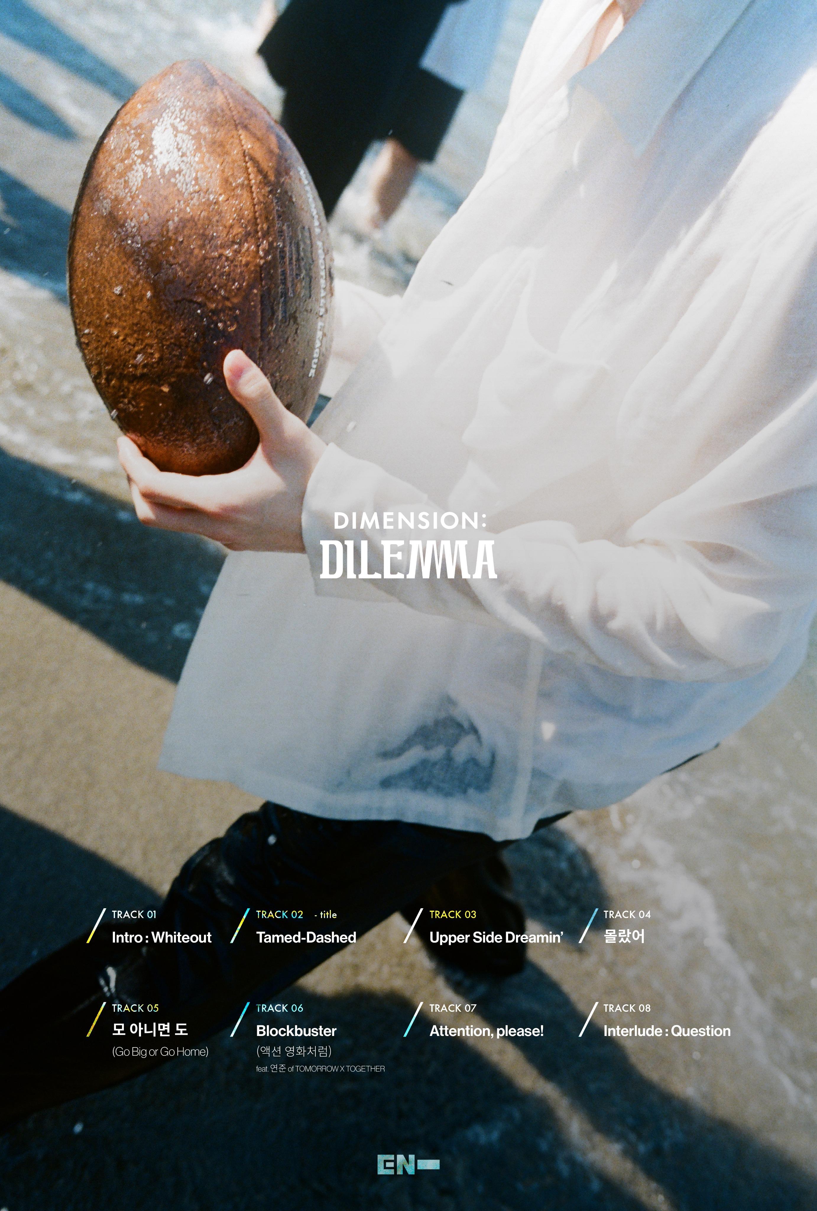 DIMENSION : DILEMMA_tracklista