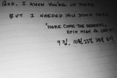 Here Comes The Regrets ft Lee Hi