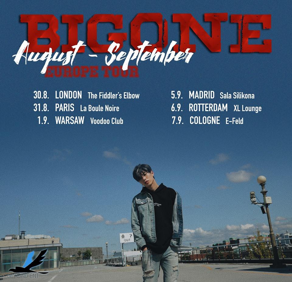 Europejska trasa koncertowa BIGONE