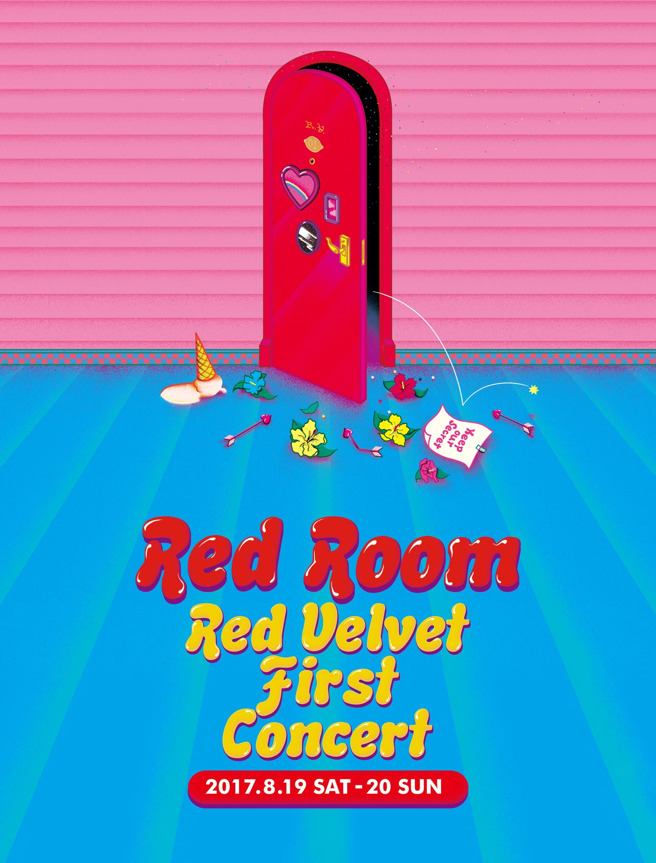 RV_redroom-concertposter