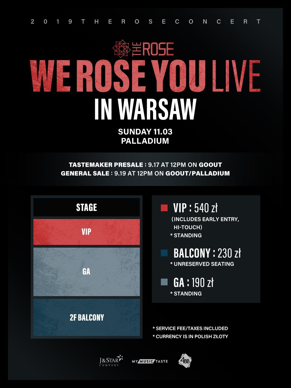 MMT The Rose w Warszawie