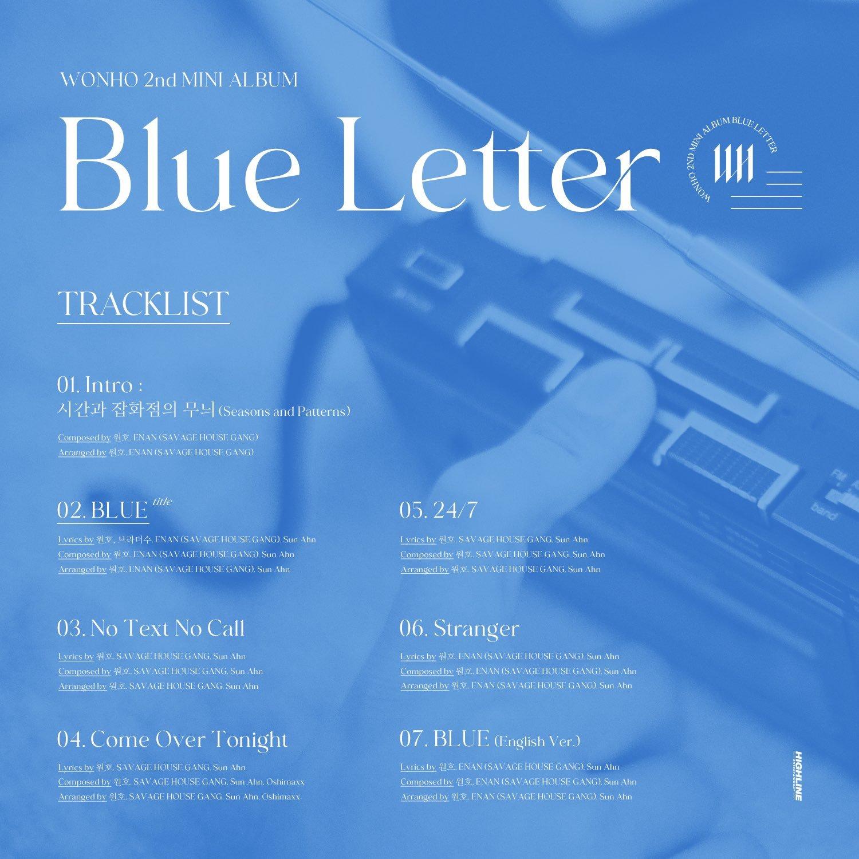 Blue-Letter_tracklista
