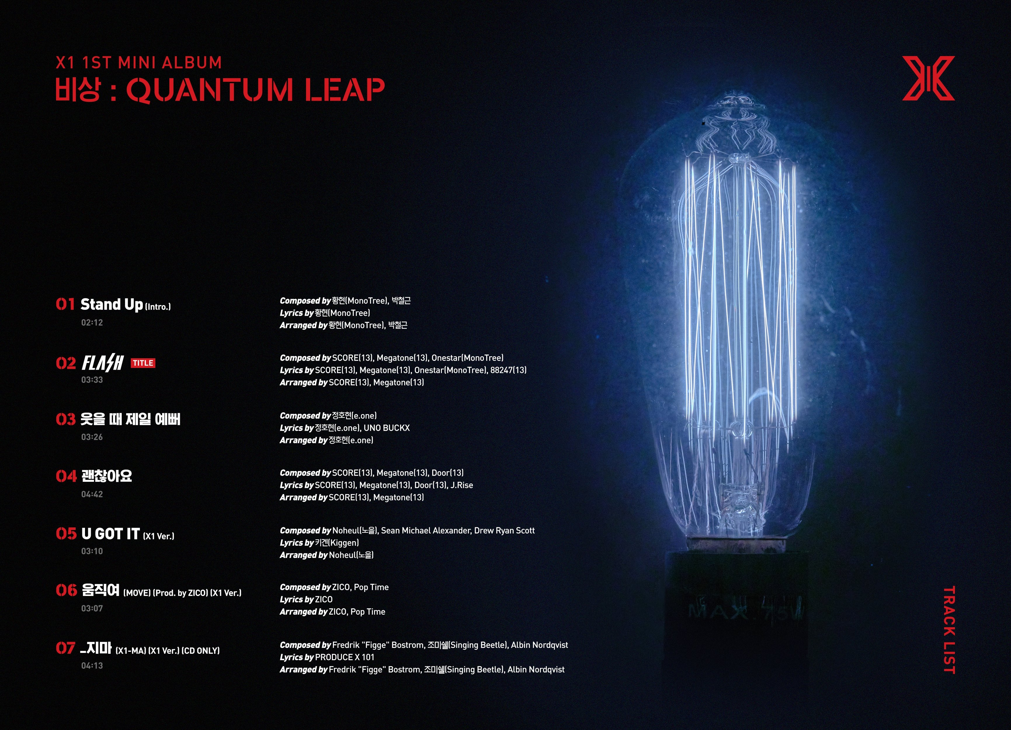 x1-quantum_tracklist